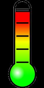 Thermometer zur richtigen Weintemperatur