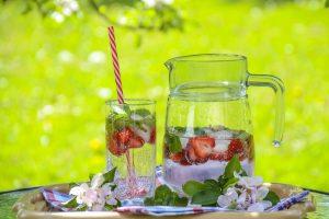 fertige erdbeer-bowle