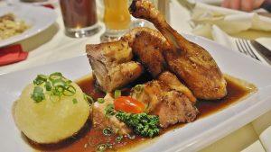 Essen zu Merlot