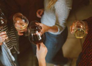 Macht Wein Dicken Bauch